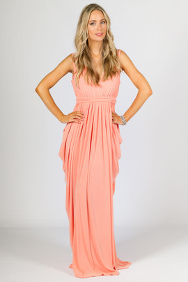 Aphrodite Maxi Dress - Sherbet