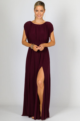 Olympia Maxi Dress - Mulberry