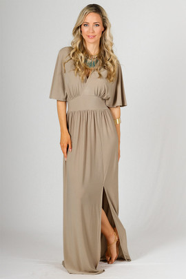 Millie Maxi Dress - Latte