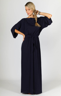 Alexa Maxi Dress - Navy