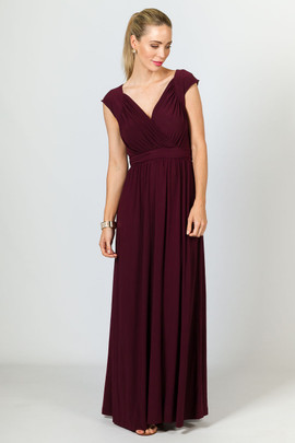 Mackenzie Maxi Dress - Mulberry