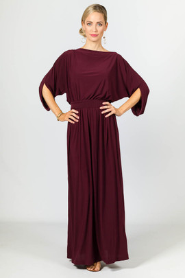 Alexa Maxi Dress - Mulberry