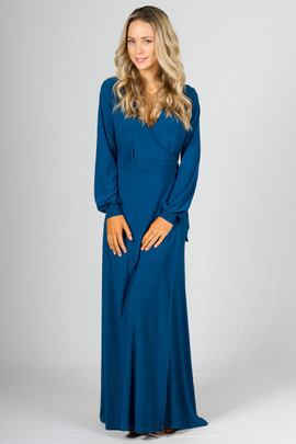 Catalina Maxi Dress - Teal