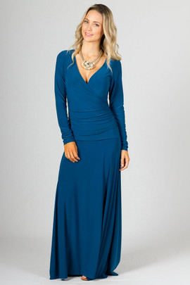 Avery Maxi Dress - Teal