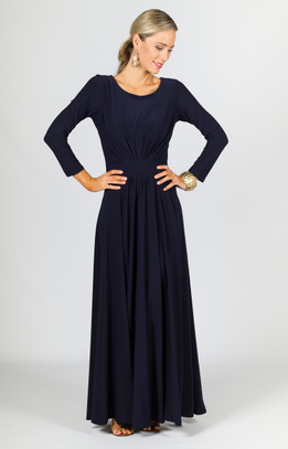 Francis Maxi Dress - Navy