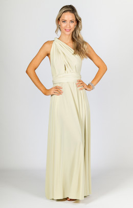 Multi Way Wrap Maxi - Buttermilk