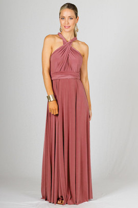 Multi Way Wrap Maxi - Cinnamon