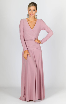 Avery Maxi Dress - Dusty Pink