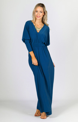 Kat Maxi Dress - Teal