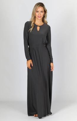 Juliet Maxi Dress - Grey Moss