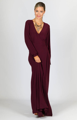 Catalina Maxi Dress - Mulberry