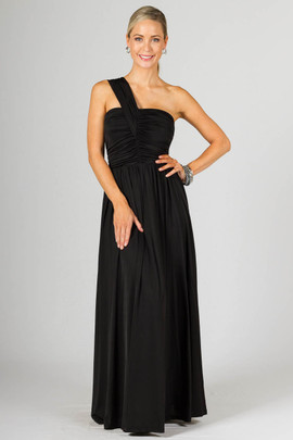 Ashlyn Maxi Dress - Black