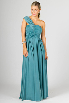 Ashlyn Maxi Dress - Aquamarine
