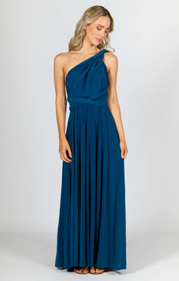 Multi Way Wrap Maxi - Teal
