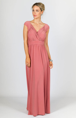 Mackenzie Maxi Dress - Cinnamon
