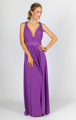 Multi Way Wrap Maxi - Lavender - SUPERSEDED COLOUR STOCK