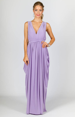 Aphrodite Maxi Dress - Lilac