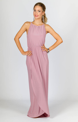 Peyton Maxi Dress - Dusty Pink
