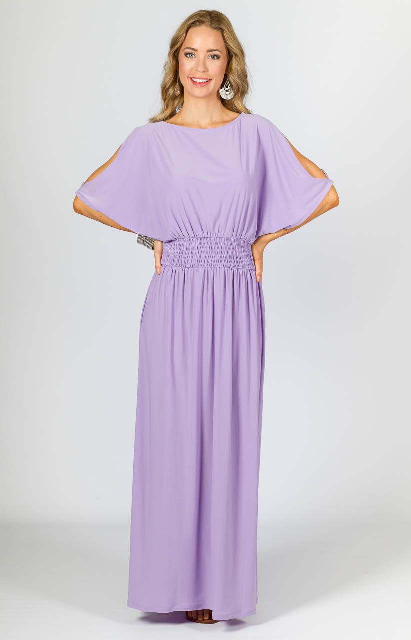 Lucy Maxi Dress - Lilac - P.S. Frocks