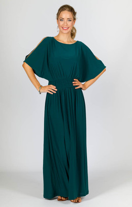 Lucy Maxi Dress - Emerald
