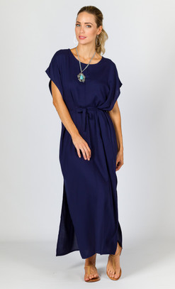 Summer Maxi Dress - Navy