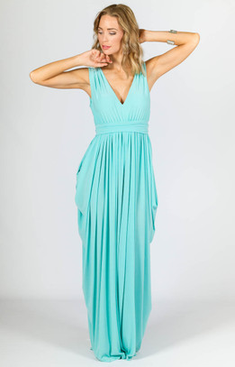 Aphrodite Maxi Dress - Mint