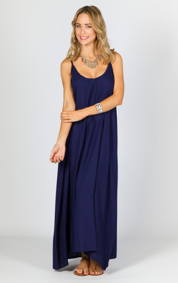 Rio Maxi Dress - Navy