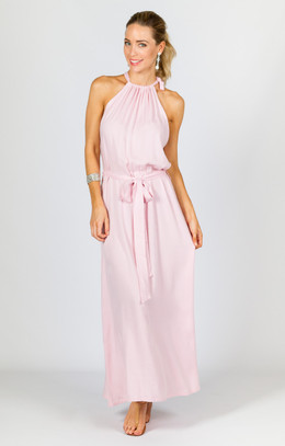 Athena Maxi Dress - Pink