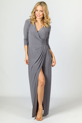 Mia Maxi Dress - Pewter