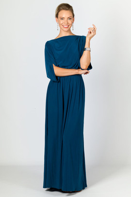Alexa Maxi Dress - Teal