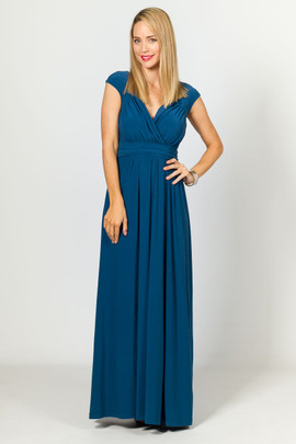 Mackenzie Maxi Dress - Teal