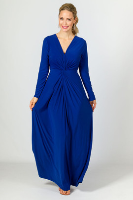 Giselle Maxi Dress - Cobalt
