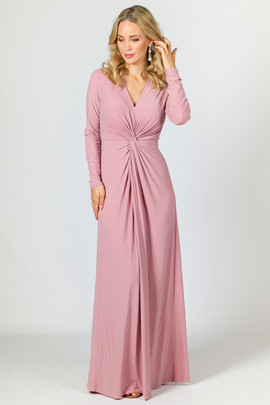 Giselle Maxi Dress - Dusty Pink