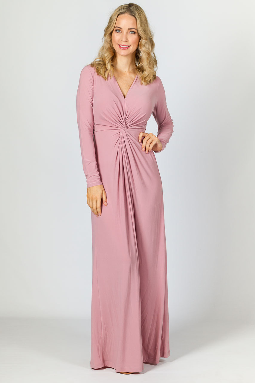 Giselle Maxi Dress - Dusty Pink - P.S. Frocks