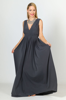 Aphrodite Maxi Dress - Slate