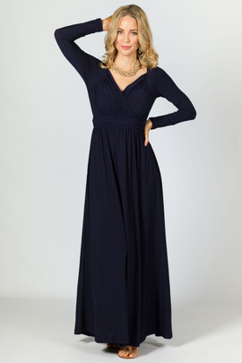 Miranda Maxi Dress - Navy