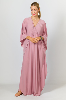 Keira Maxi Dress - Dusty Pink