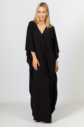 Keira Maxi Dress - Black