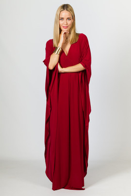 Keira Maxi Dress - Sangria