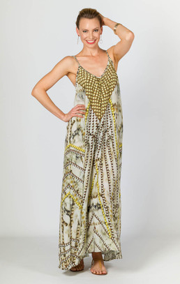 Darcia Embellished Cami Maxi Dress