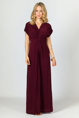 Sophia Maxi Dress - Mulberry