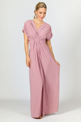 Sophia Maxi Dress - Dusty Pink