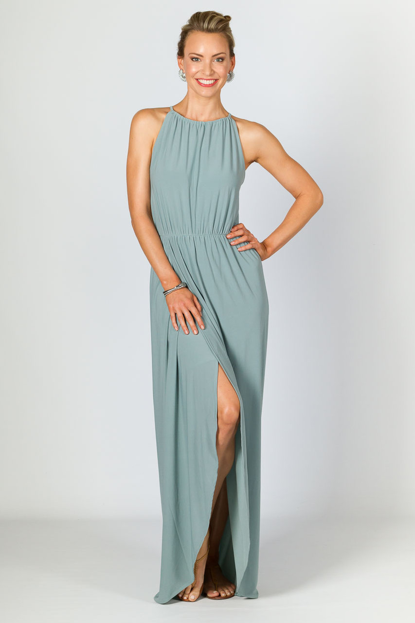Maxi ladies dresses trends recommend to wear in winter in 2019