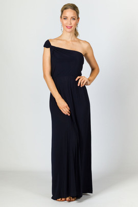 Arabella Maxi Dress - Navy