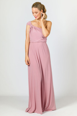 Arabella Maxi Dress - Dusty Pink