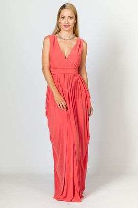 Aphrodite Maxi Dress - Watermelon