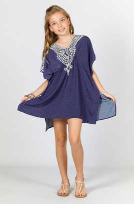 Mae Girls Embellished Kaftan