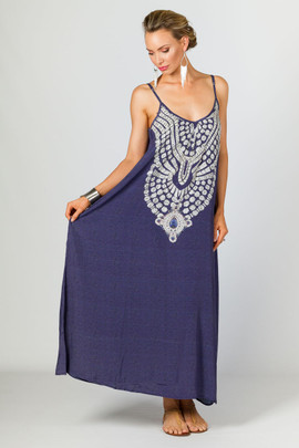 Mae Embellished Cami Maxi Dress