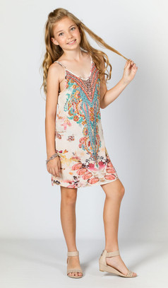 Amelie Girls Embellished Dress