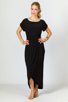 Stevie Maxi Dress - Black